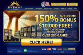 Sun palace free chip 2020