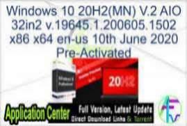 Windows 10 20H2 AIO v19042.572 x64 Outubro 2020